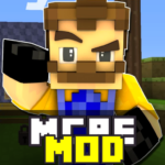 Free Download Mod Hello Neighbor for Minecraft PE APK, APK MOD, Cheat