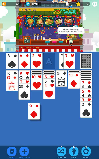 Solitaire Cooking Tower – free card games 1.0.8 cheathackgameplayapk modresources generator 2